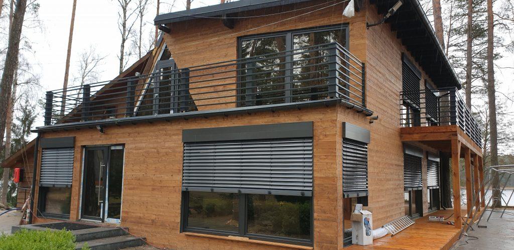 Żaluzje fasadowe zewnętrzne